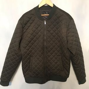 Zara Green Men's Bomber Jacket